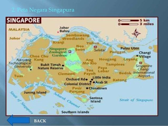 Profil Negara Asean Peta Singapura Gambar