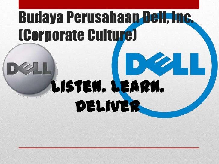 Profil Perusahaan Dell Inc