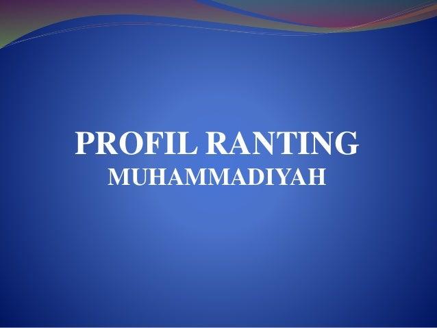 PROFIL RANTING  MUHAMMADIYAH
