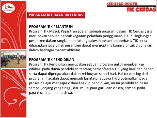 PROGRAM TIK BISNIS Program TIK Bisnis ini sebuah bentuk program yang akan memberikan sebuah wawasan baik secara teori maup...