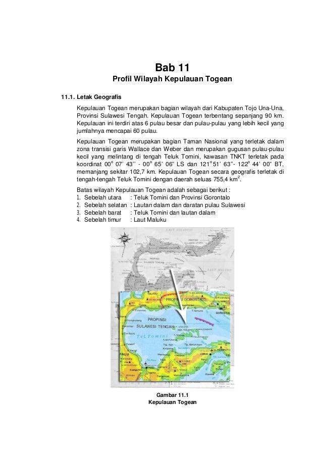 Profil Wilayah Kepulauan Togean