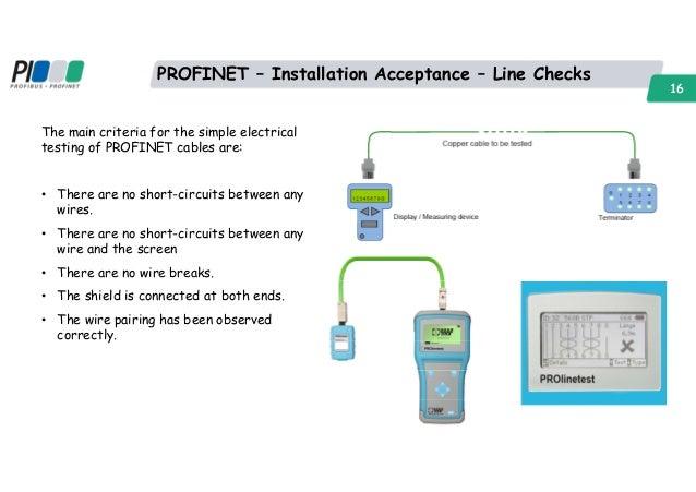 profinet network qualification peter thomas profinet installation