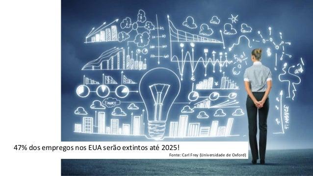 O Fórum Económico Mundial (2017) acredita que o mundo está a atravessar a quarta revolução industrial impulsionada pela as...
