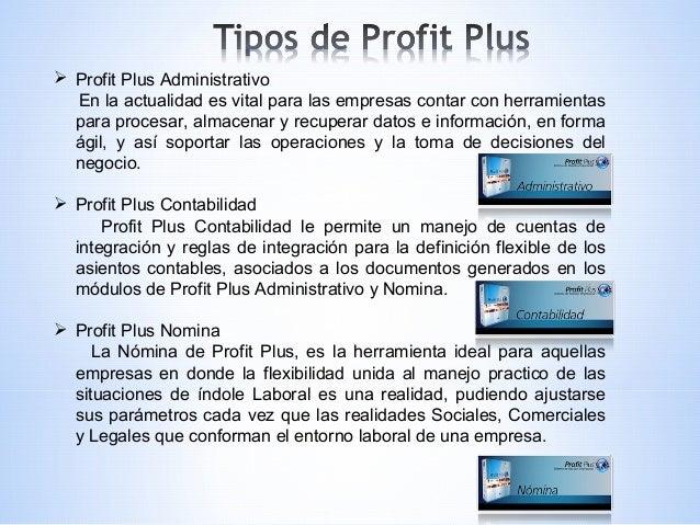 Manual de profit plus contabilidad.