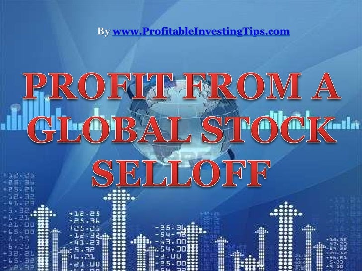 Stock markets across theworld plunge on the newsof an increasingly severedebt dilemma in the EuroZone.
