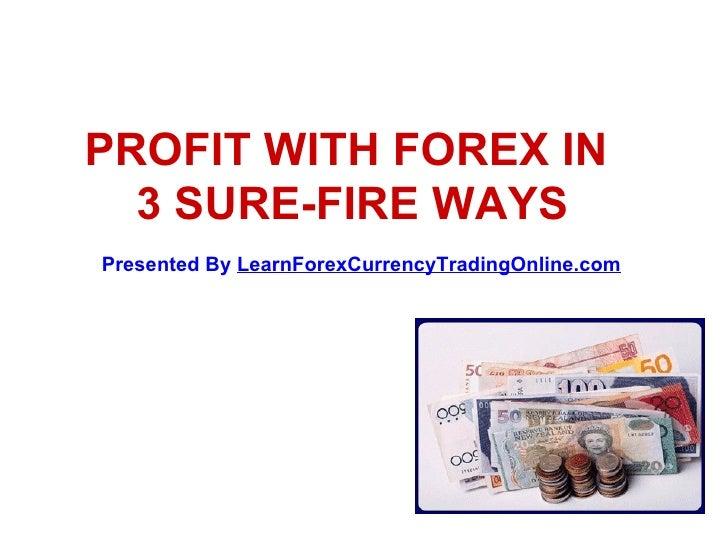 Forex sure profit