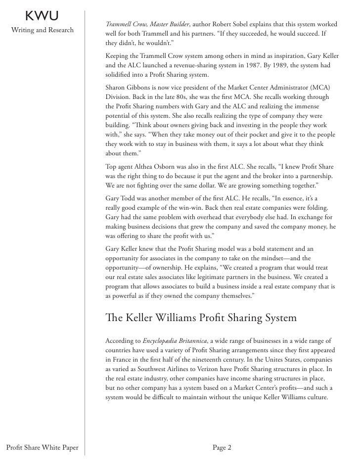 KW Profit Share White Paper Slide 2
