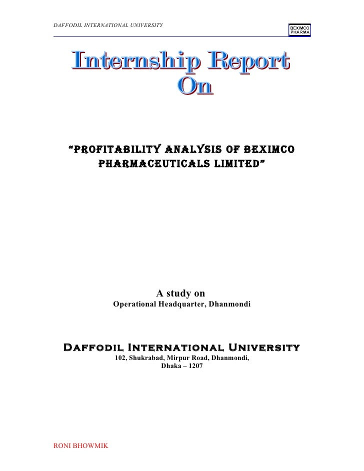 a study on beximco pharmaceuticals limited essay Ratio analysis of beximco pharmaceuticals limited covering the data of five years beximco pharmaceutical ltd and ratio analysis.