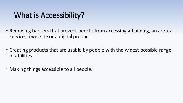 Profitability of Accessibility WordPress Accessibility Day 2020 Slide 3