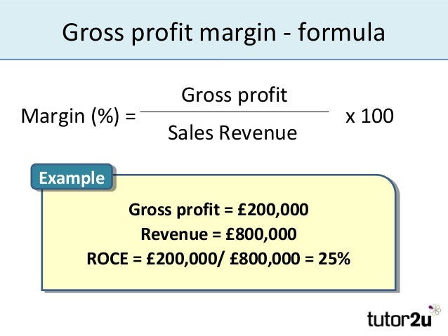 how to figure margin