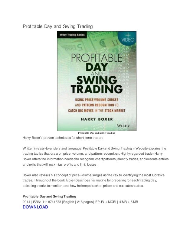 Profitable swing trading system