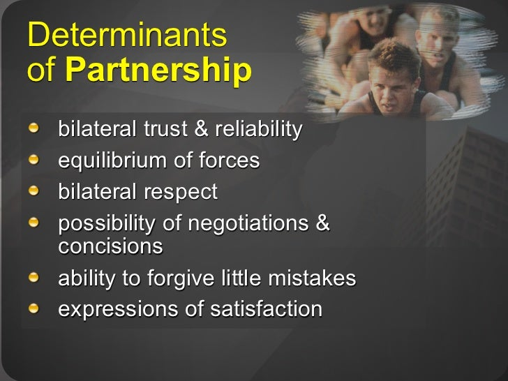four broad partnership of relationship Relationship types  this introduction to mentoring was  here to refer to the broad range of individuals who may be.