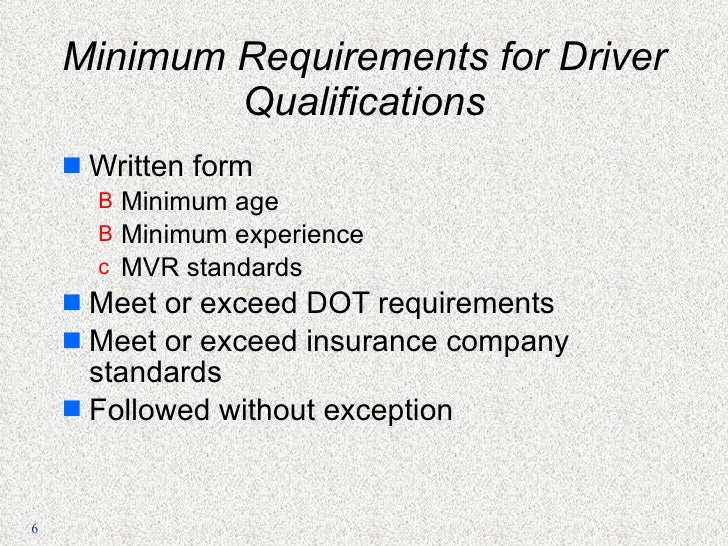 Profitable trucking by johnny schrunk for The federal motor vehicle safety standards are written