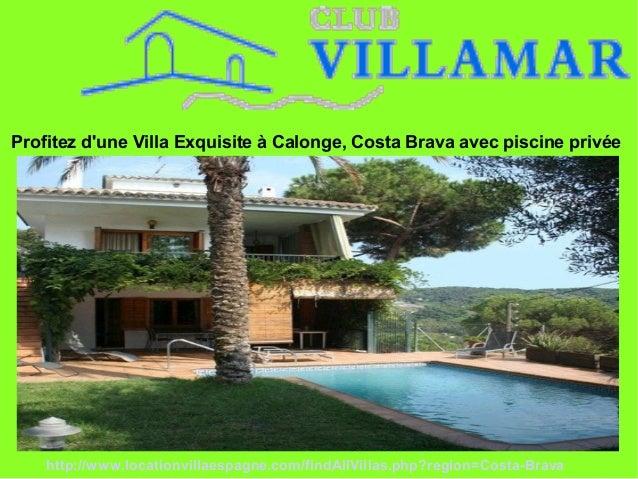 Profitez d'une Villa Exquisite à Calonge, Costa Brava avec piscine privée http://www.locationvillaespagne.com/findAllVilla...