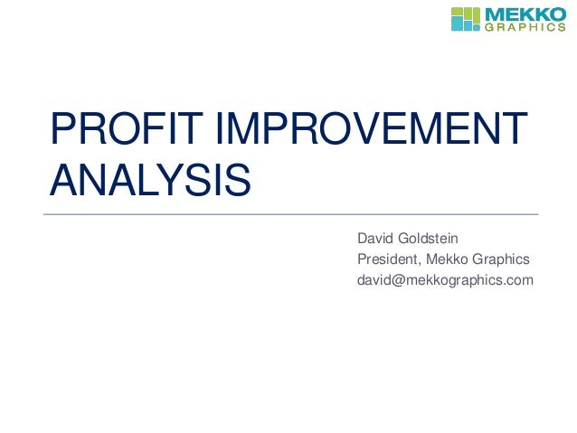 Improvement Analysis 121