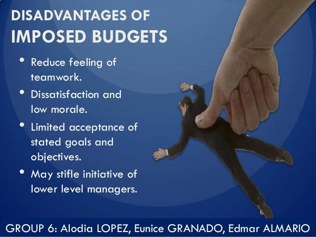 disadvantages of operating budgets An overview of the advantages and disadvantages of budgeting once the operating budget has been prepared, two further budgets can be done, namely: i.
