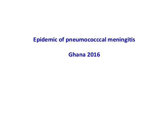 Prof James Stuart @ MRF's Meningitis & Septicaemia in Children & Adults 2017 Slide 3