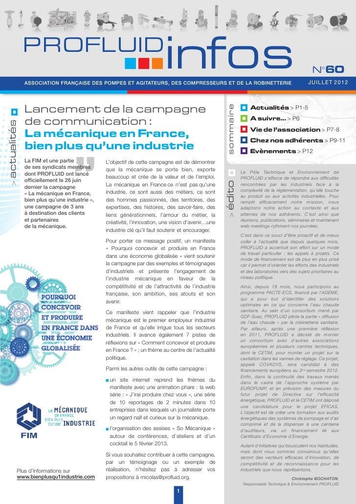 PROFLUID                                                                         infos               ASSOCIATION FRANÇAISE...