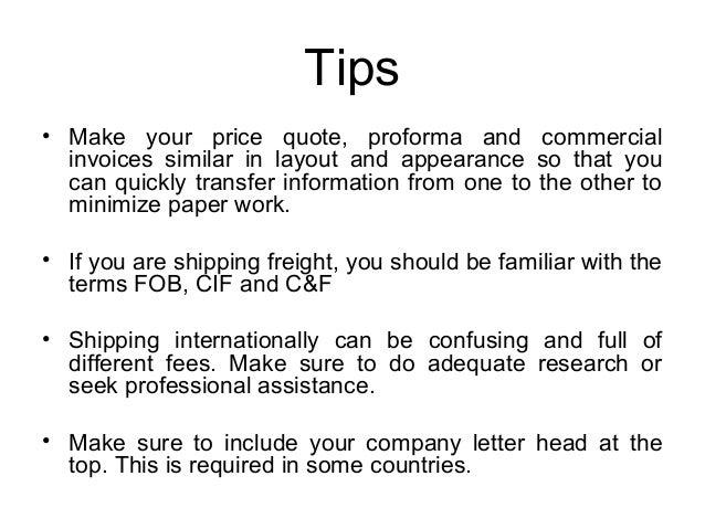 International Proforma Invoice Template. Free Travel Invoice