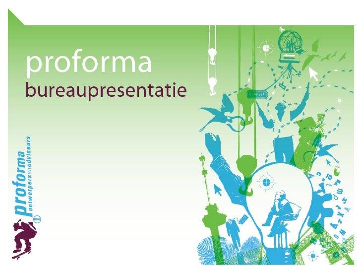 Proforma Portfolio 2009