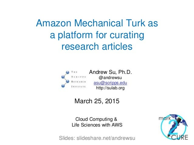 how to use mechanical turk for transcription