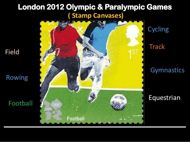 The London 2012 Olympic Amp Paralympic Games Stamps