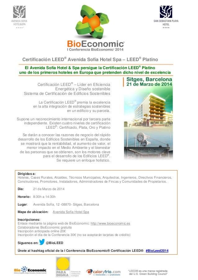Se darán a conocer las razones de negocio del rápido desarrollo de los Edificios Sostenibles en España, donde se mostrará ...