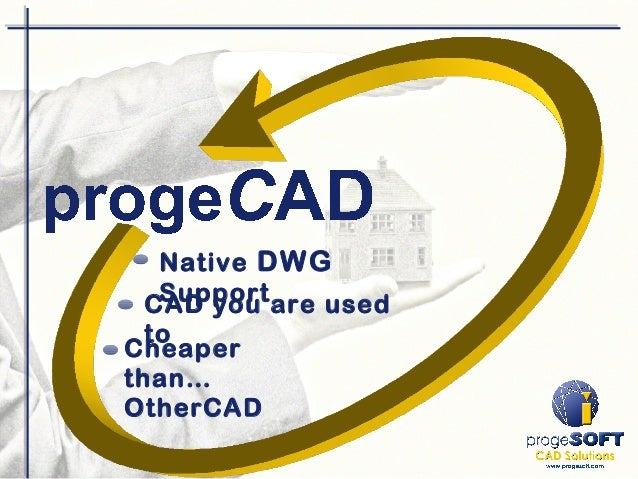 Native DWG Support Cheaper than… OtherCAD CAD you are used to