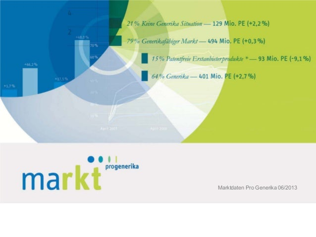 Marktdaten Pro Generika 06/2013