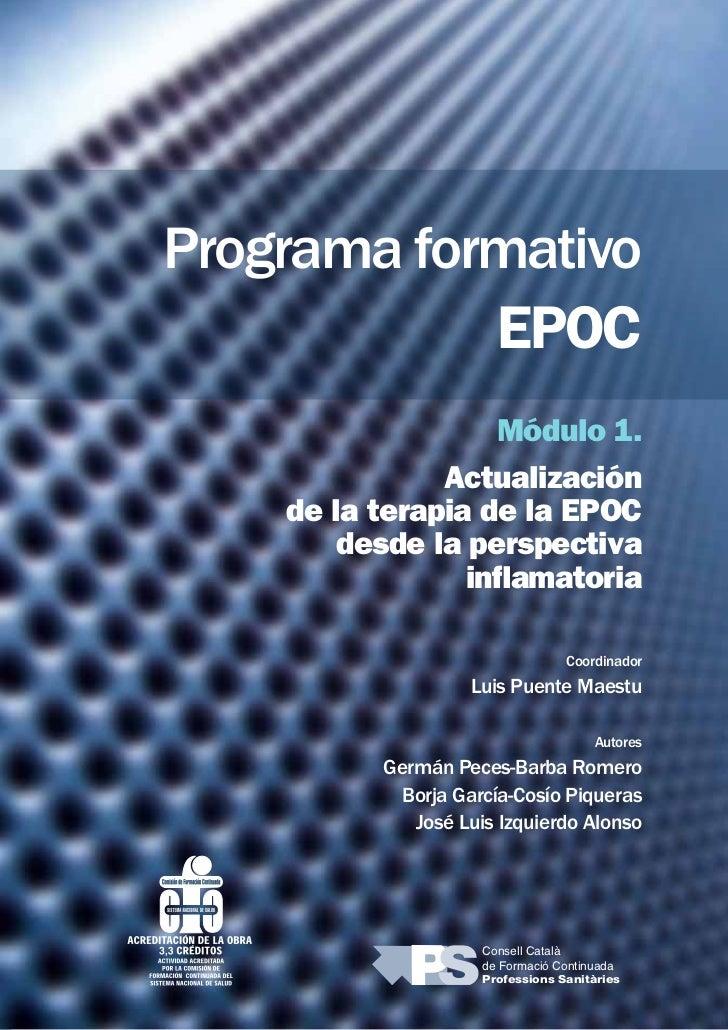 Programa formativo                                 EPOC                                        Módulo 1.                  ...