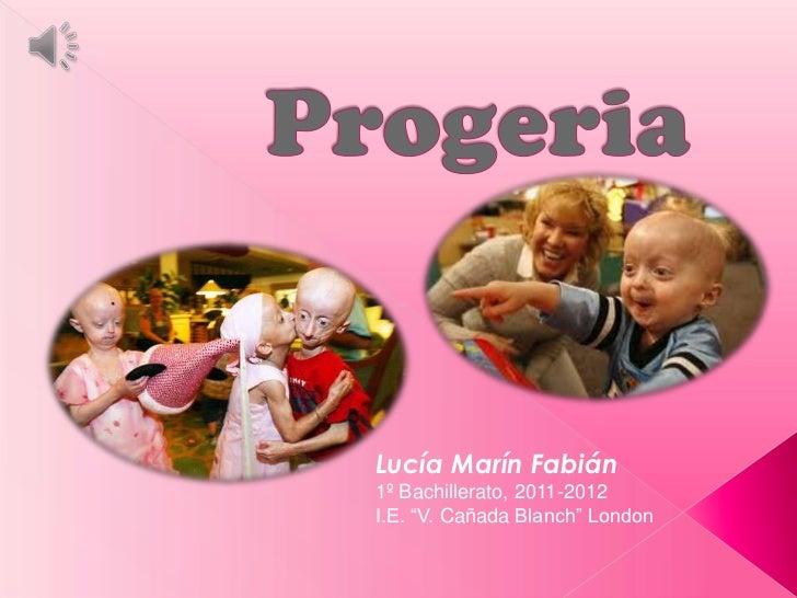 """Lucía Marín Fabián1º Bachillerato, 2011-2012I.E. """"V. Cañada Blanch"""" London"""