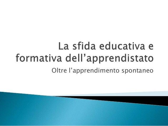 Progettare per competenze Slide 2