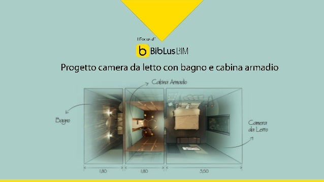 Come progettare una camera da letto con bagno e cabina armadio