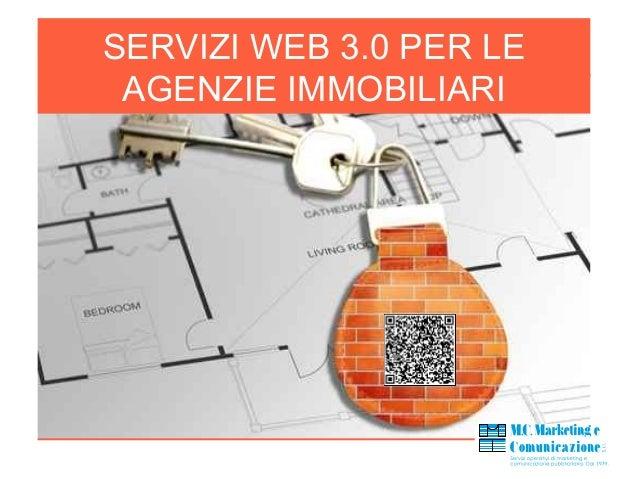 SERVIZI WEB 3.0 PER LE AGENZIE IMMOBILIARI