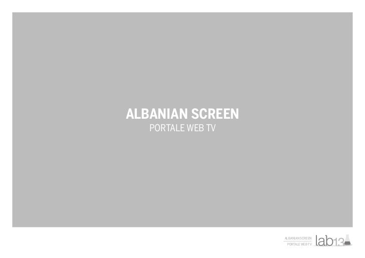 ALBANIAN SCREEN   PORTALE WEB TV                    ALBANIAN SCREEN                     PORTALE WEB TV