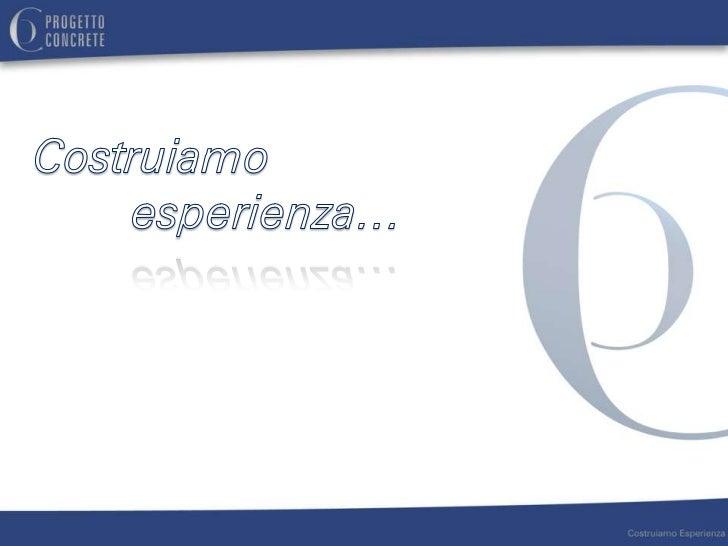 L'EVOLUZIONE                                                2006              2011                                        ...