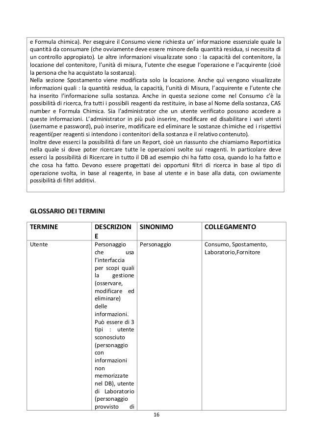 Progetto e sviluppo di un'applicazione per la gestione di un