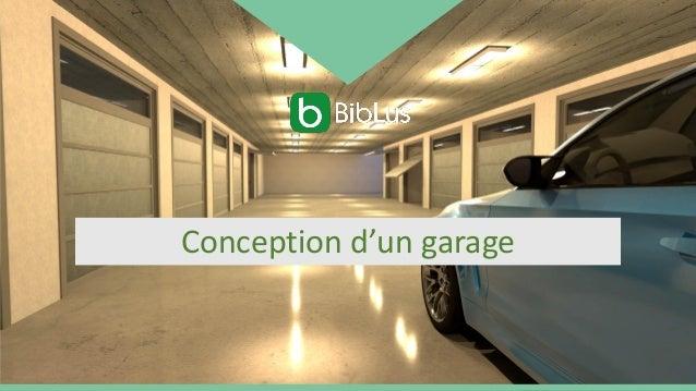 Conception d'un garage