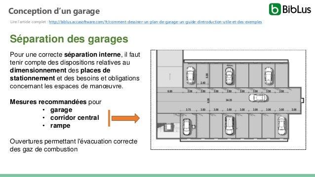 Dessiner des plans de garages  Slide 2