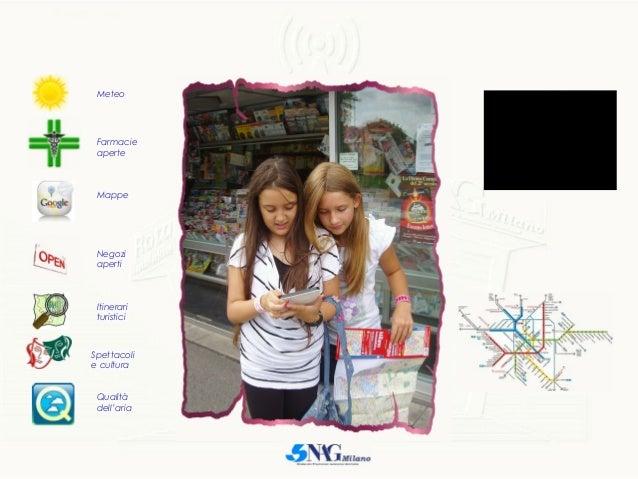 Meteo Farmacie aperte Mappe Negozi aperti Itinerari turistici Spettacoli e cultura Qualità dell'aria