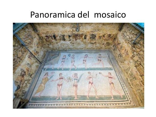 Panoramica del mosaico