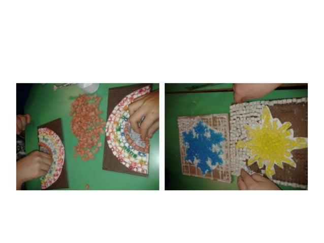 Il mosaico con il pesce Mosaico del pesce realizzato a mano con delicatezza e tanta tanta pazienza