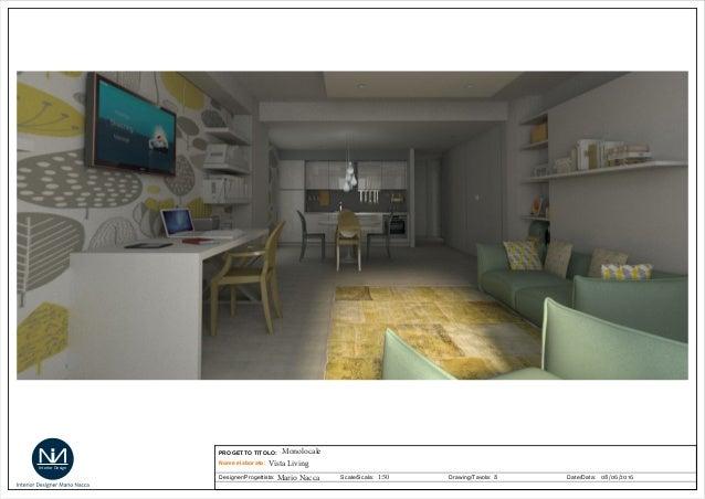 Progetto monolocale mario nacca - Offerte lavoro interior designer roma ...
