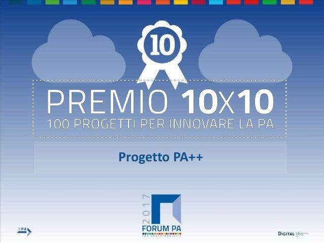 1 Progetto PA++