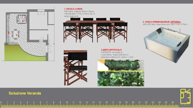 Progetto pierpaolo per corso interior design i di nad for Siepe artificiale ikea
