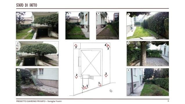 Progetto privato guercia giovanni esame corso garden for Garden design level 3
