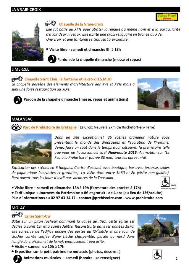 Journées du patrimoine dans le pays de Questembert Slide 3