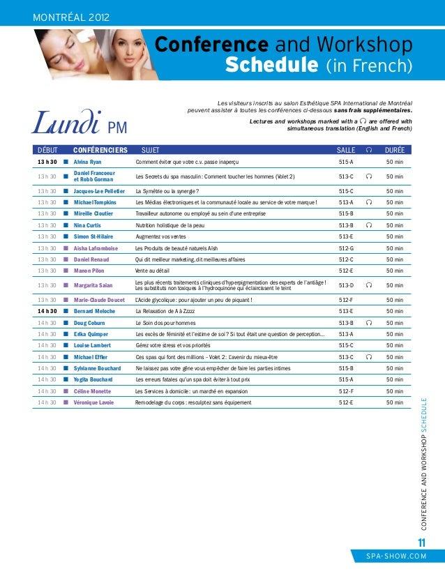 182909818b Montréal 2012 - Complete Show Program