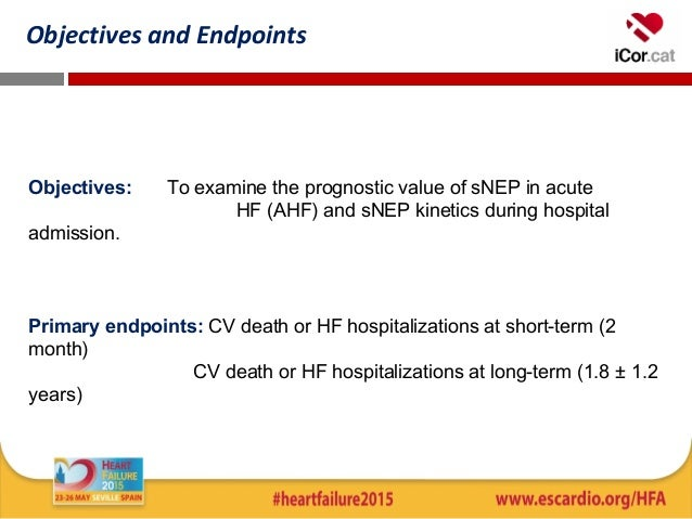 prognostic value and kinetics of soluble neprilysin in