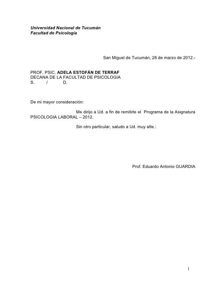 Universidad Nacional de TucumánFacultad de PsicologíaCátedra de Psicología Laboral - Línea docencia - servicios - Area lab...